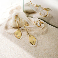 Begin Anew Gold Earrings - Wanderlust + Co