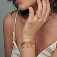 Toggle Gold Bracelet - Wanderlust + Co