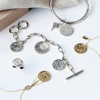 Out of this World Toggle Silver Bracelet - Wanderlust + Co