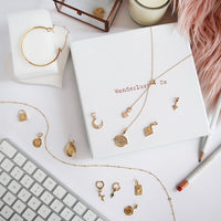 Lariat Gold Necklace - Wanderlust + Co