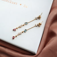 Kaia Stardust Gold Earrings