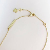 Starlit Gold Sterling Silver Necklace - Wanderlust + Co