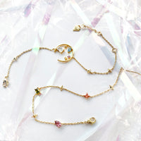 Aurora Gold Gem Bracelet - Wanderlust + Co