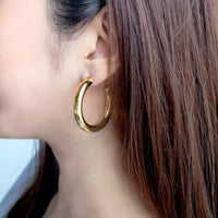 Faye Mini Gold Hoop Earrings
