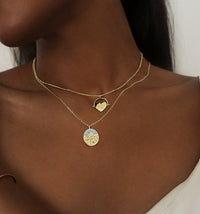 Midnight Gold Necklace