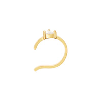 Diamante Gold Ear Cuff - Wanderlust + Co
