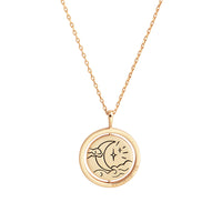 Chasing Clouds Gold Necklace