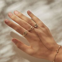 Light Seeker Gold Ring
