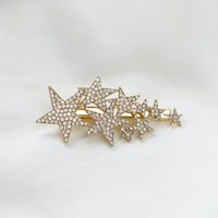 Shooting Stars Diamante Hair Clip