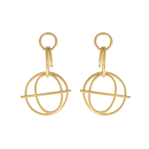 Helix Gold Earrings