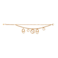 Helix Gold Layered Bracelet - Wanderlust + Co