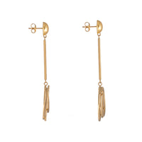 Infusion Gold Drop Earrings