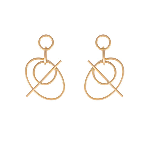 Infusion Gold Earrings