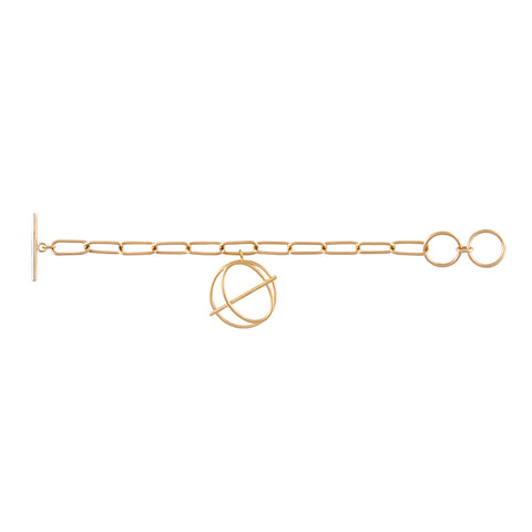 Infusion Gold Toggle Bracelet