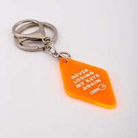 Diamond Custom Key Ring