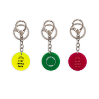 Circle Custom Key Ring