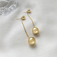 Looking Glass Gold Earrings