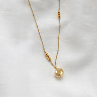 Looking Glass Gold Necklace