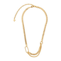 Reflect XL Curb Chain Gold Necklace