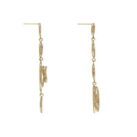 Multi Helix Gold Earrings - Wanderlust + Co