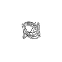 Multi Helix Silver Ring - Wanderlust + Co
