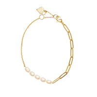 Sea of Light Gold Bracelet