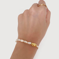 Kindred Pearl Gold Bracelet