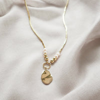 Take Breath Gold Necklace