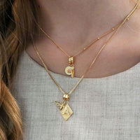 Alphabet Gold Charm - Wanderlust + Co