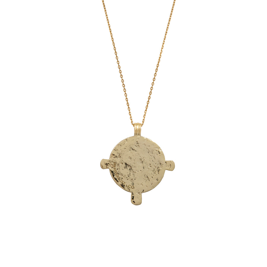 Eos Goddess Gold Necklace Wanderlust Co