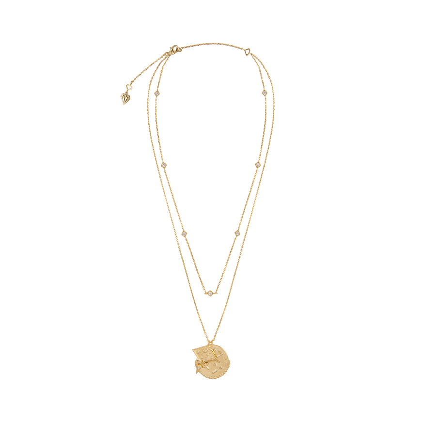 Ines Double Gold Necklace