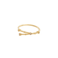 Cancer Zodiac Gold Ring - Wanderlust + Co