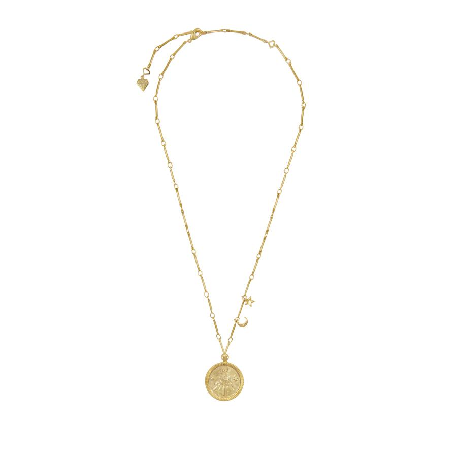 Aleya Gold Necklace