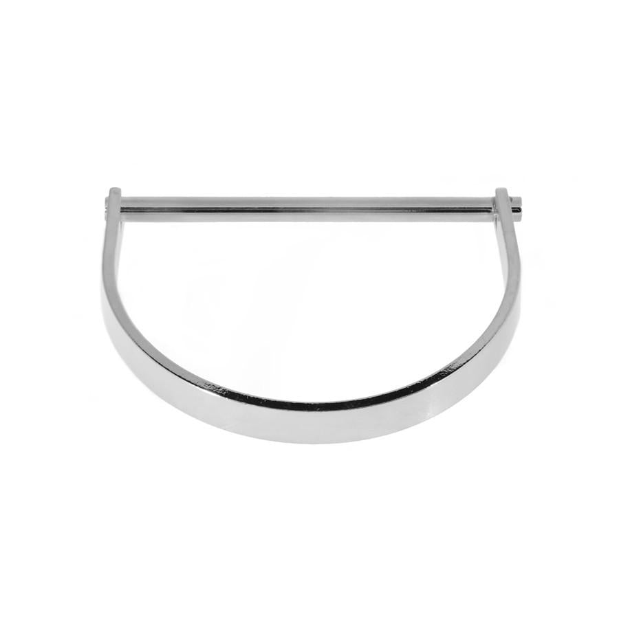 Bar Silver Bangle - Wanderlust + Co