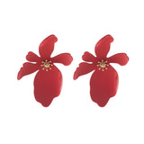 Camilla Red Earrings