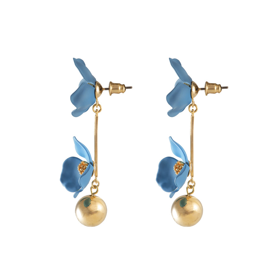 Isla Drop Blue Earrings