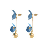 Isla Drop Blue Earrings - Wanderlust + Co