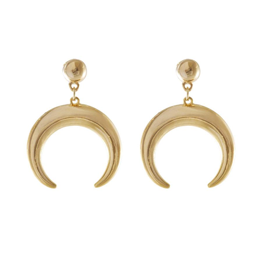 Out Of This World Earrings in Gold Wanderlust + Co gUjyI4II6