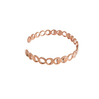 Lunar Rose Gold Cuff Set - Wanderlust + Co
