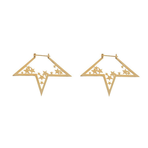 Nova Gold Earrings