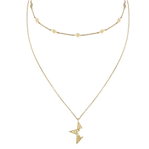 Nova Gold Necklace