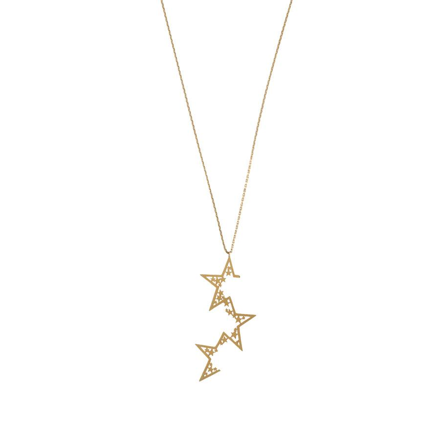 Supernova Gold Necklace