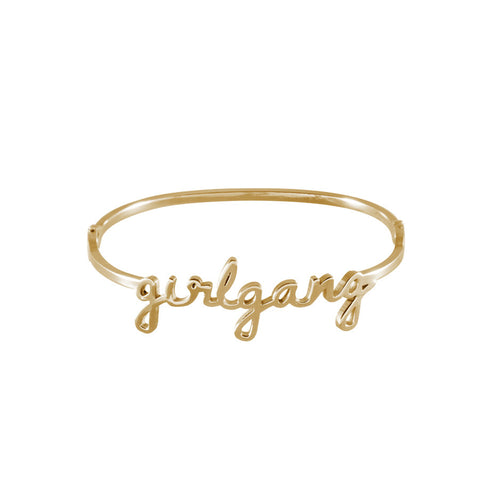 Girlgang Gold Bangle