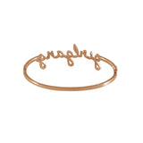 Girlgang Rose Gold Bangle
