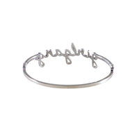 Girlgang Silver Bangle