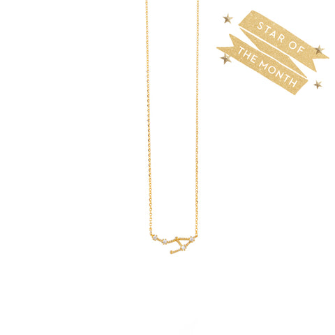 Libra Cosmic Gold Necklace