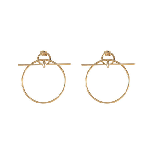 Loop Gold Earrings
