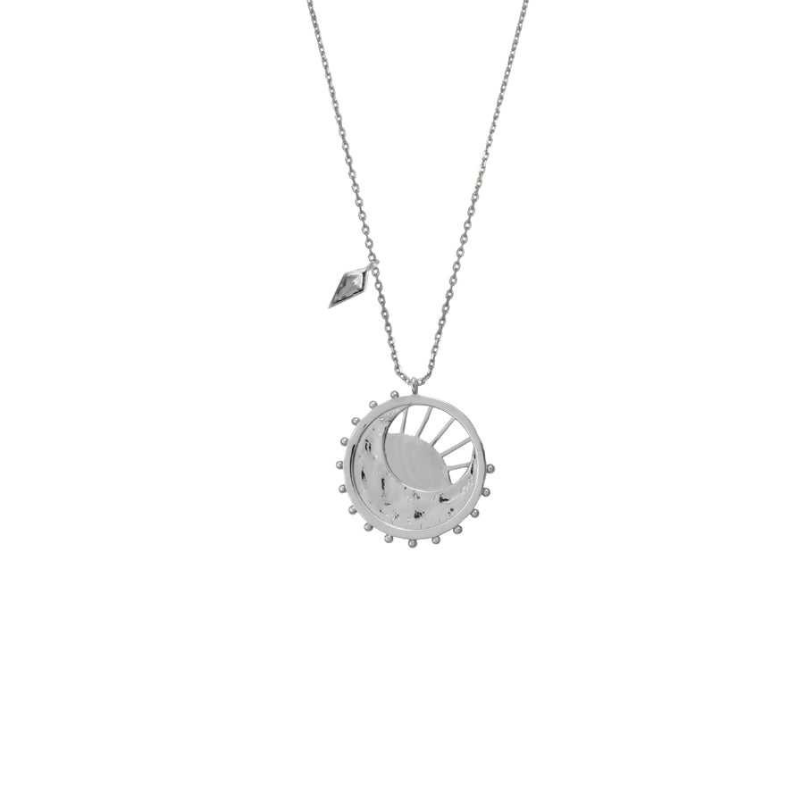 Dawning of a New Day Silver Necklace