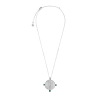 Eos Goddess Silver Necklace - Wanderlust + Co