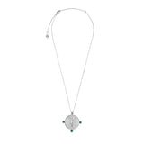 Eos Goddess Silver Necklace